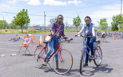 Roue de secours – Édition 2020 : distribution de 100 vélos réparés